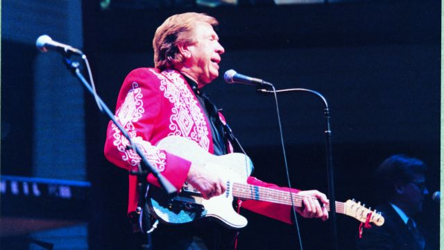 One of the founding fathers of the Bakersfield Sound, Owens performed weekly at the Crystal Palace to the very night he passed away in 2006.