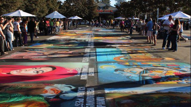 Via Arte Italian Street Painting Festival
