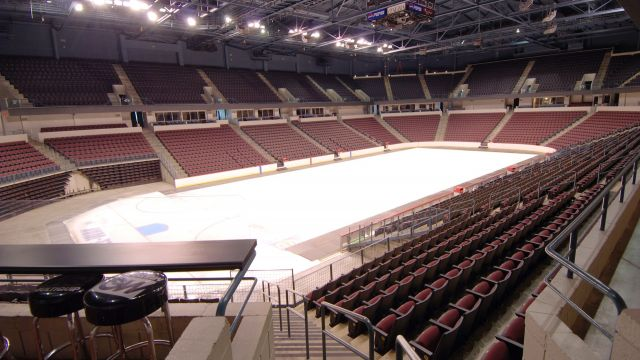 Ice being laid down in Rabobank Arena