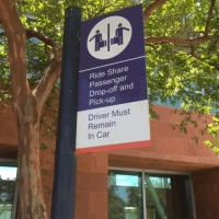 New Rideshare Location at Bakersfield Amtrak Station