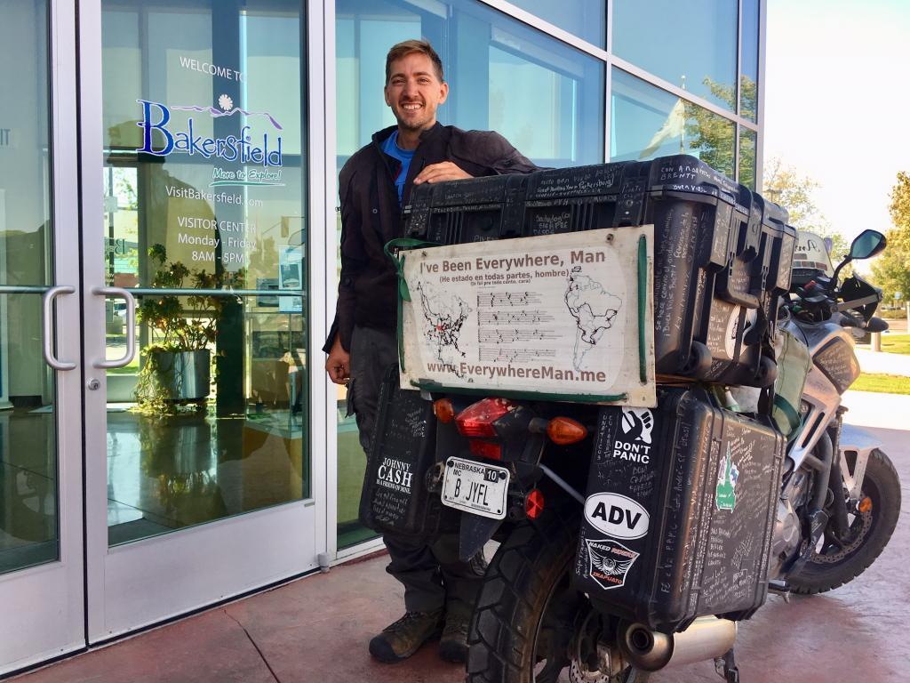 """Everywhere Man"" Visits Bakersfield"