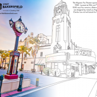 Visit Bakersfield Coloring Book Contest