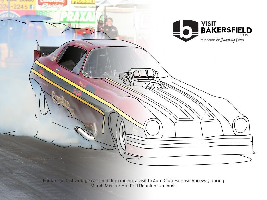 Visit Bakersfield Coloring Book Contest Week Twelve