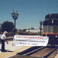 Happy 20th Birthday to Bakersfield's Amtrak Station