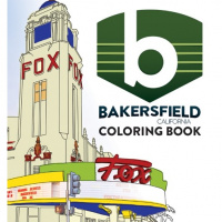 It's Here!  The New Bakersfield Coloring Book