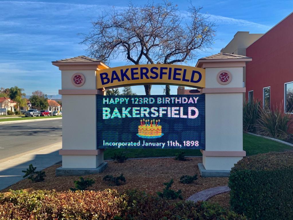 Happy birthday, Bakersfield!