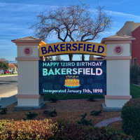 Happy birthday, Bakersfield!