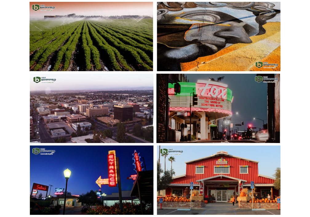 By popular demand, six more Bakersfield backgrounds for your next zoom call